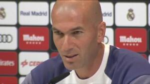 """Zidane: """"Pensáis que la BBC está un poco regular, para mí no"""""""