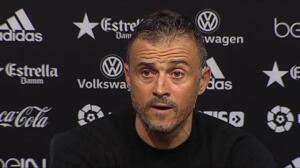 """Luis Enrique, sobre la lesión de Iniesta: """"Es grave, serán semanas seguro"""""""