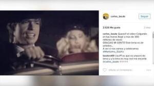 Carlos Baute y Marta Sánchez hacen las paces en Instagram