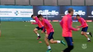 El Barça prepara la Supercopa de Catalunya