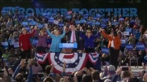 Clinton toma ventaja en la recta final de campaña