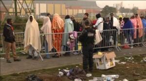 "Arde la ""Jungla"" de Calais"