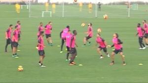 El Granada continúa preparando el partido ante el Barça