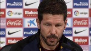 """Simeone: """"Siempre que pierdes estás deseando ganar cuanto antes"""""""