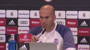 """Zidane: """"Lucas se lo ha ganado trabajando"""""""