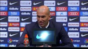 """Zidane: """"No sé si el resultado es justo o no, es lo que hay"""""""