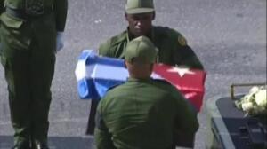 Las cenizas de Fidel Castro llegan a Santiago de Cuba