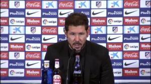 """Simeone: """"Me voy con la sensación de que el equipo quiso darlo todo"""""""