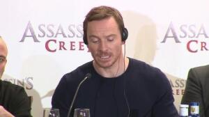 Fassbender presenta Assasin's Creed en Madrid