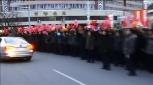 Corea del Norte recibe a lo grande a las campeonas del Mundial Sub20