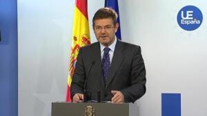 """Catalá recuerda a Puigdemont que un referéndum """"no cabe"""" en el modelo constitucional español"""