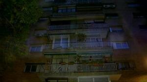 Un matrimonio vive momentos de pánico tras el incendio de su vivienda en Barcelona