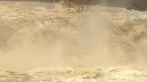 Pamplona eleva el nivel de alerta ante posibles inundaciones por la crecida del río Arga