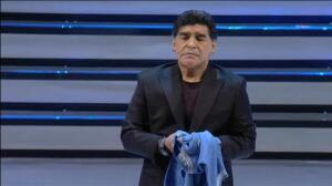 Maradona revive los recuerdos del primer 'Scudetto' del Nápoles