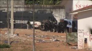 La policía lucha contra bandas de narcotraficantes en la prisión brasileña de Natal