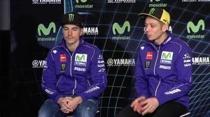 """Valentino Rossi: """"Maverick me ha impresionado mucho ya desde el primer día"""""""