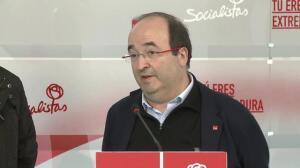 """Iceta: Lo importante es """"fortalecimiento del proyecto"""" PSOE"""