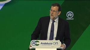 Rajoy pide el voto en Granada para ser presidente del PP