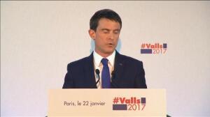 Benoît Hamon triunfa en la primera vuelta de las primarias de los socialistas franceses