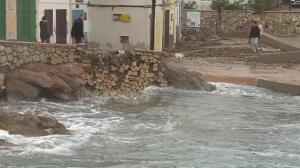 La fuerza del mar castiga a todas las Islas Baleares