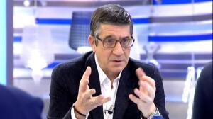 """Patxi López: """"El PSOE no debe mirar ni a la derecha ni a la izquierda"""""""