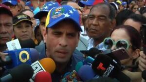 La oposición venezolana vuelve a las calles para pedir elecciones