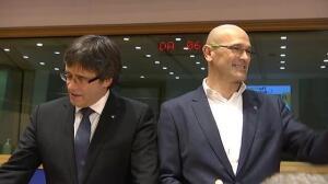 Puigdemont acude a Bruselas a 'promocionar' el independentismo catalán