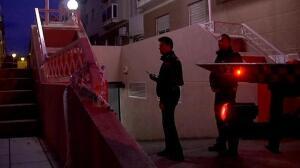 Un hombre mata a tiros a otro e hiere de gravedad a su pareja en un garaje Cartagena