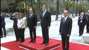 Arranca en Málaga la cumbre entre España y Francia