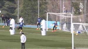 El Real Madrid prepara ya el choque ante el Valencia