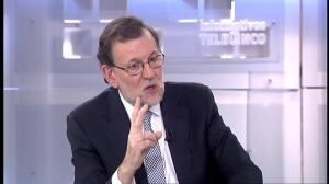 """Rajoy sobre Cataluña: """"Si las reuniones fueran discretas o secretas no las iba a contar yo"""""""
