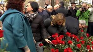 Bildu, en el homenaje a Buesa en Vitoria