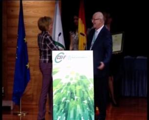 Domingo Fernández deja la presidencia del CSIF