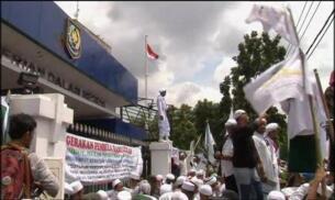 Protestas en Indonesia en contra de la venta de alcohol