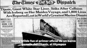 Carta perdida del jefe de oficiales del Titanic