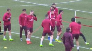 El Atlético ya piensa en la visita del Barça en Liga