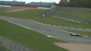 F1 - Las primeras imágenes del Mercedes W08