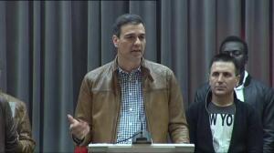 """Pedro Sánchez: """"Nunca un socialista será mi adversario"""""""