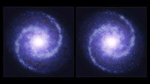 Las galaxias actuales tienen más materia oscura