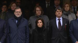 Moncloa se suma al silencio por las víctimas del atentado de Londres