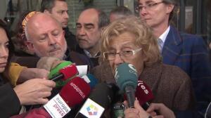 """Carmena denuncia la """"brutalidad y lo desesperante"""" del terrorismo"""