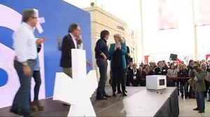 """Mas dice que ya no tienen """"miedo al Estado español"""" y Puigdemont insiste en que no les queda otro camino que la independencia"""