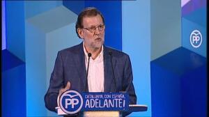 """Rajoy: """"No se le puede pedir a la gente que se ponga de acuerdo para violar la ley"""""""