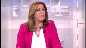 """Susana Díaz: """"Dentro del PSOE solo tengo compañeros y compañeras"""""""