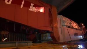 Así es el camión gigante que recorre las carreteras de Guipúzcoa