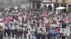 Más de 800 personas buscarán batir en Segovia el Guinness de danzantes de jota para dar visibilidad