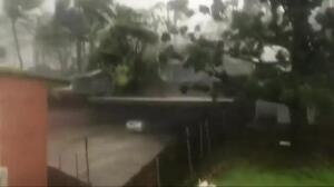 El ciclón Debbie toca tierra en Australia