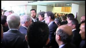 """Rajoy ofrece""""reconstruir puentes"""" con Cataluña, invirtiendo 4.200 millones de euros en infraestructuras"""