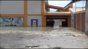 Horas de angustia en la ciudad de Piura (Perú) por las inundaciones