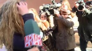 Rocío Carrasco en los juzgados por la querella a su ex